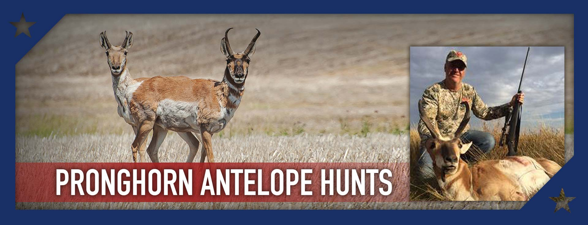Trophy Pronghorn Antelope Hunts